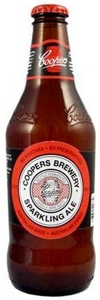 Coopers Sparkling Ale (SA) Flasche 0,375l