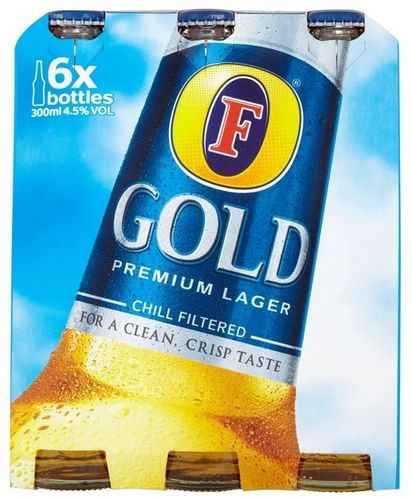 Foster's Gold Premium Lager (EU) Sixpack