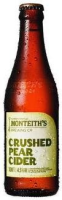 Monteith's Crushed Pear Cider (NZ) 0,33l Flasche
