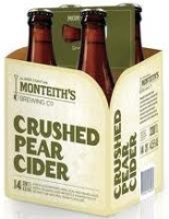 Monteith's Crushed Pear Cider (NZ) Viererpack