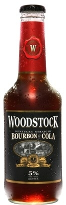 Woodstock Bourbon & Cola (NZ) 0,33l Flasche