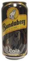 "Bundaberg ""Rum"" & Cola (QLD) 0,375l"