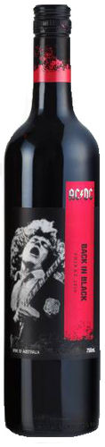 Shiraz Back in Black 2011 (SA) AC/DC