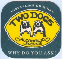 Two Dogs Bierdeckel