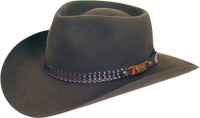 Akubra Snowy River rodeo brown