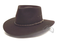Akubra Cattleman tanbark brown