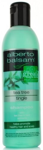 tea tree tingle shampoo alberto balsam 400ml (NZ)