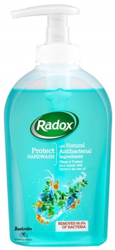 Radox Protect Handwash thyme & tea tree oil 300ml