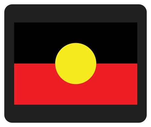 Mousepad Aboriginalfahne