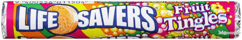 Lifesavers Fruit Tingles 34g Rolle