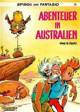Abenteuer in Australien Comic: Tome & Janry (dt.) 46 S.