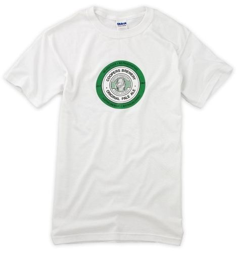 T-Shirt Coopers weiss Pale Ale
