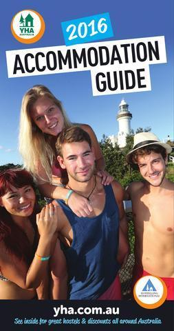 YHA Accommodation Guide 2016 (engl.) 128 S.