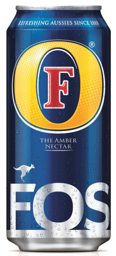 Foster's Lager Beer (EU) 0,44l Dose MHD