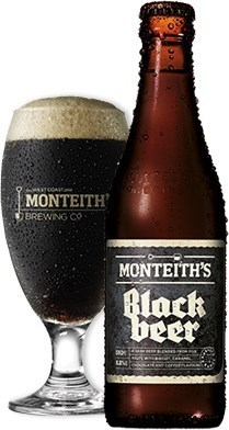 Monteith's Black Beer (NZ) Flasche 0,33l