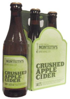 Monteith's Crushed Apple Cider (NZ) Viererpack