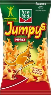 Jumpys Paprika Snacks (EU) 75g