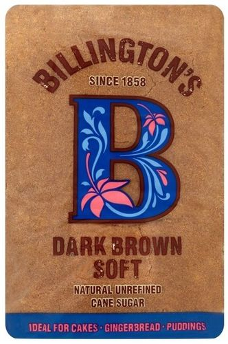 Natural Dark Brown Soft Sugar/Zucker 500g