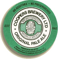 Coopers Pale Ale Bierdeckel x 10