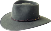 Akubra Cattleman bluegrass green
