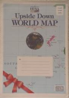 Upside Down World Map