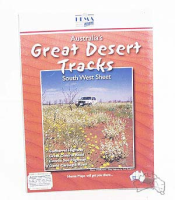 Great Desert Tracks Map Pack (6 Faltkarten)
