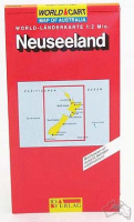 Neuseeland World-Länderkarte 1: 2Mio (NZ)