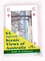 Spielkarten 54-Satz Scenic Views of Australia