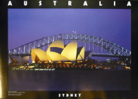 Sydney Harbour Bridge / Opera House Poster