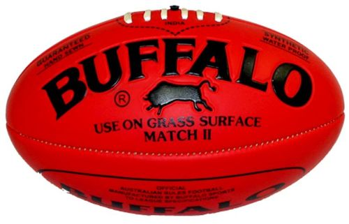 Football Australian Rules Buffalo Kunststoff Rot