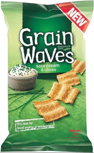 Grainwaves Sour Cream & Chives 150g