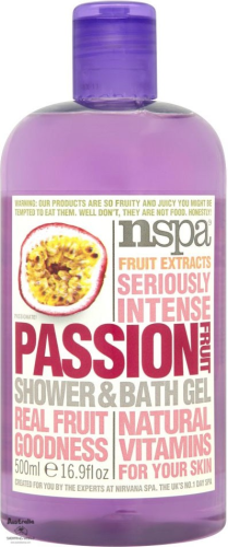 Passionfruit Shower & Bath Gel 500ml (EU)