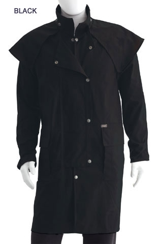 DrizaBone Short Coat Riding Jacke schwarz