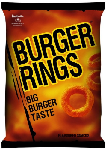 Burger Rings 120g (NZ)