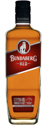 "Bundaberg ""Rum"" Red Extra Smooth 37% (QLD) 0,7L"