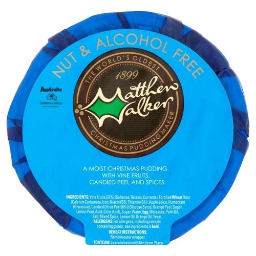 Christmas Pudding 100g Nut & Alcohol free