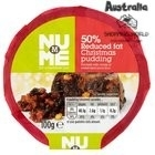 Christmas Pudding 100g Reduced Fat