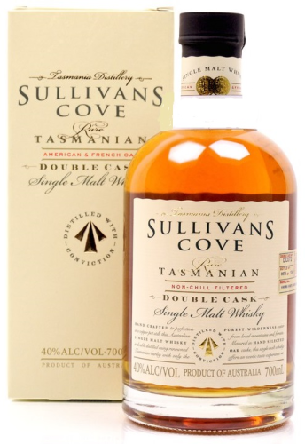 Sullivans Cove Single Malt Whisky French & American Oak 40% (TAS) 0,7L