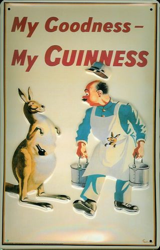 Blechschild Guinness My Goodness ca. 30x40cm