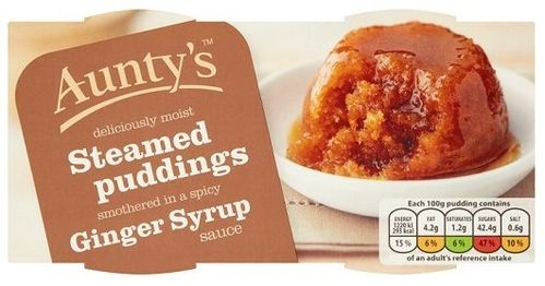Ginger Syrup Steamed Puddings 2x100g (NZ)