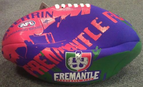 Football Australian Rules Sherrin Fremantle Soft