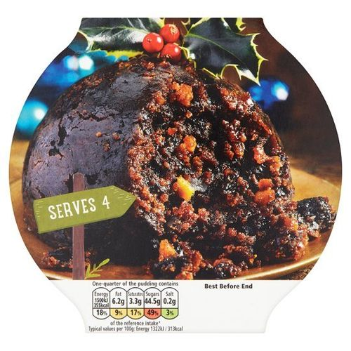Christmas Pudding 454g Nut & Alcohol free