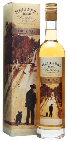 Hellyers Road Roaring Forty Whisky Original 40% (TAS) 0,7L