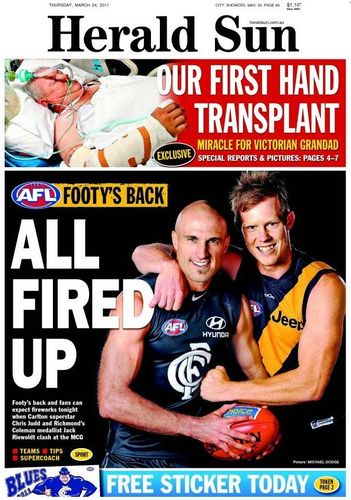 The Herald Sun (Melbourne) Newspaper