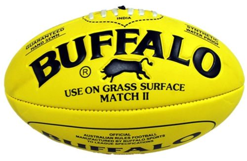 Football Australian Rules Buffalo Kunststoff Gelb