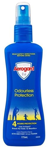 Aerogard Pump Repellent 175ml Odourless Protection