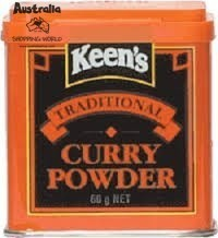 Keen's Curry Powder 60g Dose MHD überschritten!