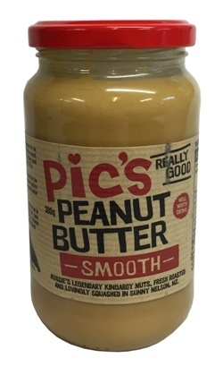 Peanut Butter Smooth 380g PIC's (NZ)