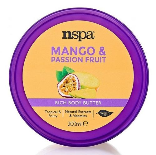Mango & Passionfruit Body Butter nspa 200ml