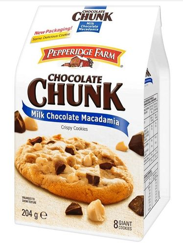 Pepperidge Farm Chocolate Chunk Macadamia Cookies 204g